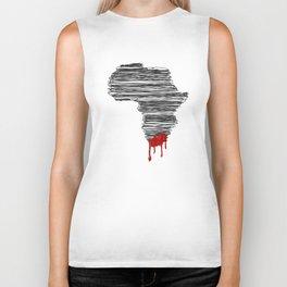 South Africa Bleeds Biker Tank