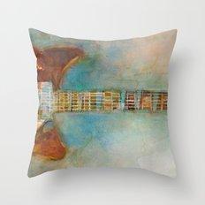 Rickenback Guitar Throw Pillow