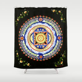 Celestial Lullaby Shower Curtain