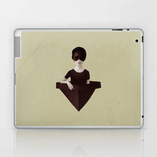 Ceci n'est pas un bateau Laptop & iPad Skin