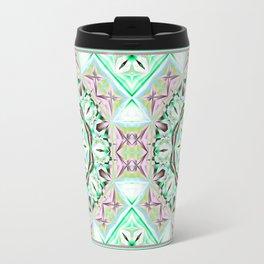Mandala with fantasy flower and tribal patterns Travel Mug