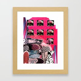 Shoes Shoes Shoes Framed Art Print