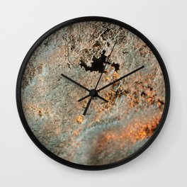 Frozen Snow Wall Clock