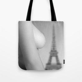 Nude in Paris Tote Bag