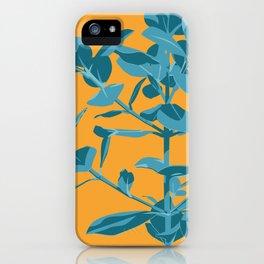 Plant Illustration - Portrait of Benny 01 iPhone Case