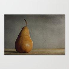 Brown Pear Canvas Print