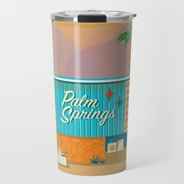 Palm Springs Apartment Travel Mug