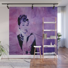 MISS GOLIGHTLY - Breakfast at Tiffany´s Wall Mural