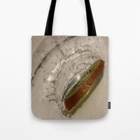 kiwi Tote Bags featuring kiwi by Helenehoie