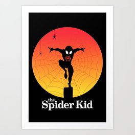 The Spider Kid Art Print