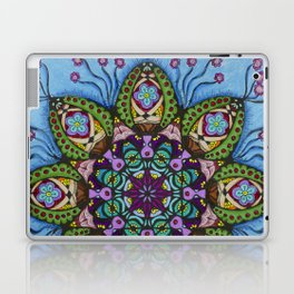 Blue Health Mandala - מנדלה בריאות Laptop & iPad Skin
