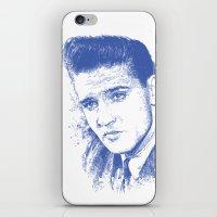 elvis presley iPhone & iPod Skins featuring Elvis Presley by Chadlonius