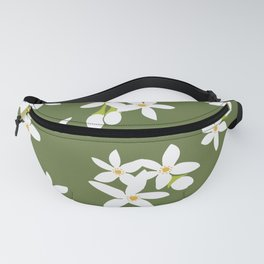 Orange Blossom pattern, from the Orange Blossom Pattern Collection Fanny Pack