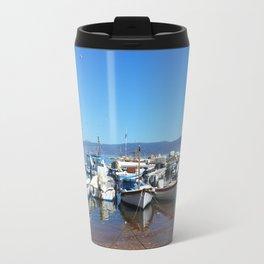 Island Of Hydra Travel Mug