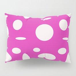 Pink Polka Dot Pillow Sham