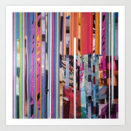 STRIPES 39 Art Print