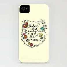 awesome iPhone (4, 4s) Slim Case
