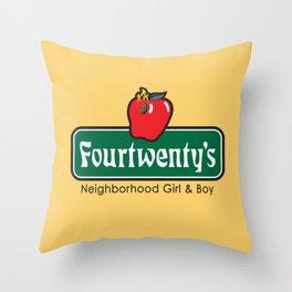 Fourtwentees Throw Pillow