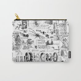 Da Vinci's Sketchbook Carry-All Pouch