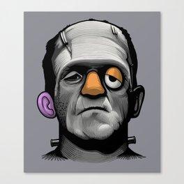Mr Frankie Head Canvas Print
