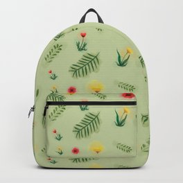 Countryside ferns Backpack