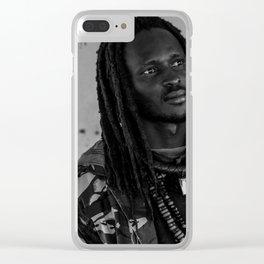 Sufi Heart Clear iPhone Case