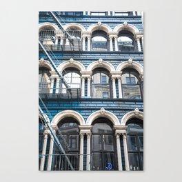 NY Blue Canvas Print