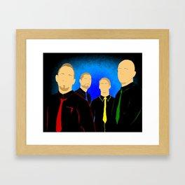 V-band Framed Art Print