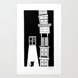 BABEL Art Print