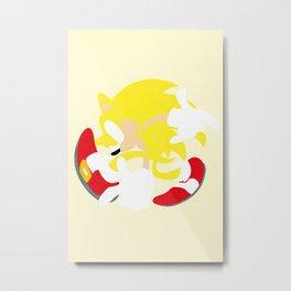 Super Sonic Metal Print