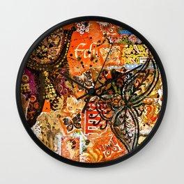 Hennarama Wall Clock