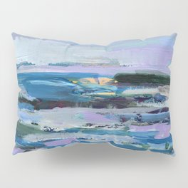 Wave. Beach Painting Series No.8 Pillow Sham