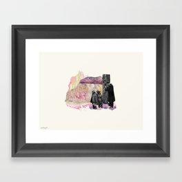 Lesson Learned Framed Art Print