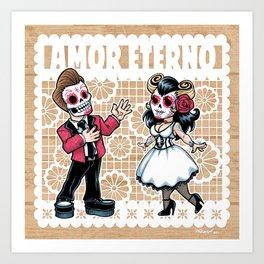 Amor Eterno Art Print