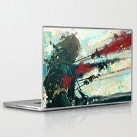 gondor Laptop & iPad Skins featuring Son of Gondor by Alba Palacio