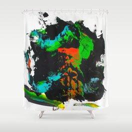 Pi #4 Shower Curtain