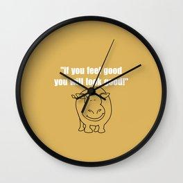 Look good Wall Clock