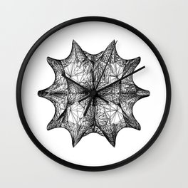 The Calabi-Yau Manifold - White Wall Clock