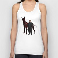crowley Tank Tops featuring Crowley by Jennilah