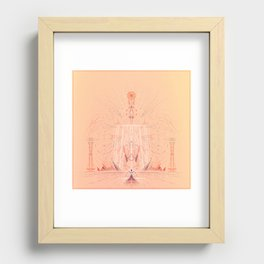 4.22.15 Recessed Framed Print