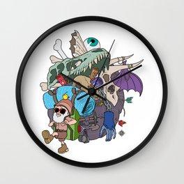 Master Loot Wall Clock