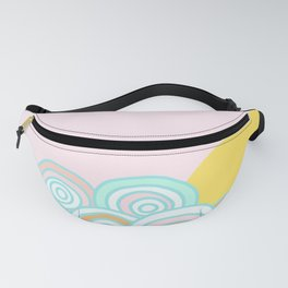 The sun will rise - Rainbow field Fanny Pack