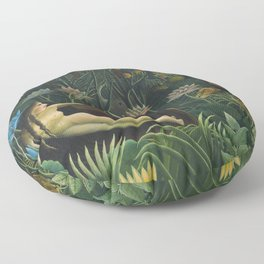 The Dream, Henri Rousseau Floor Pillow