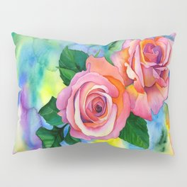 Noses in the Roses Pillow Sham