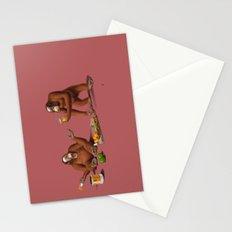 Orange Man (Colour) Stationery Cards