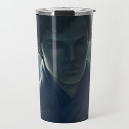 You look sad when you think he can't see you Travel Mug