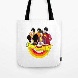 Yellow Submarine - Pop Art Tote Bag