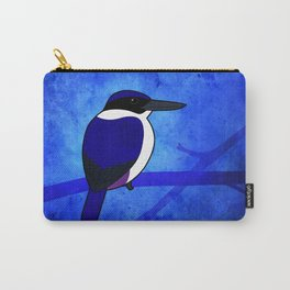 Ultramarine Kingfisher (Todiramphus leucopygius) Carry-All Pouch