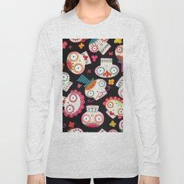 Sugar Skulls and Flowers Long Sleeve T-shirt
