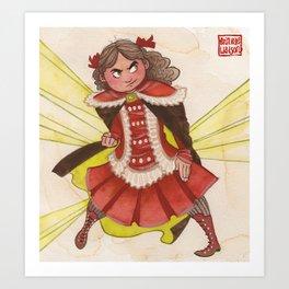 Sidony Featherfeet! Art Print